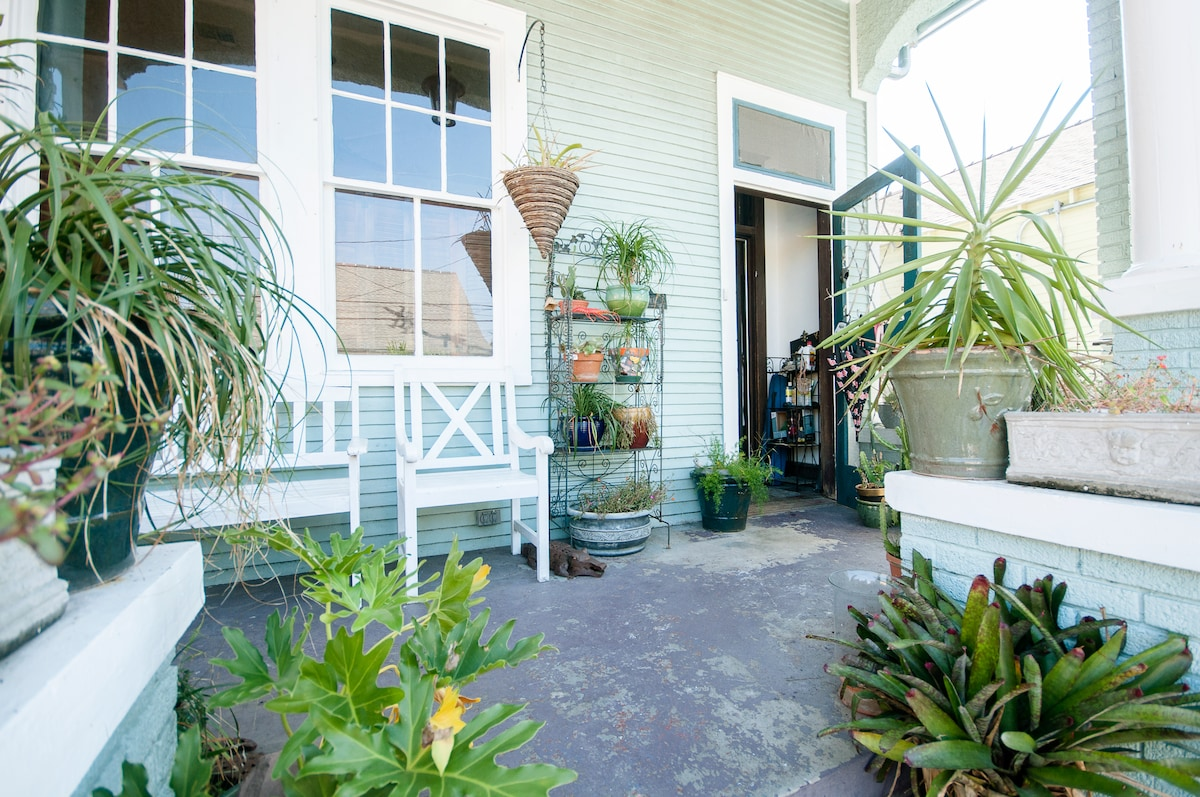 Private oasis in the Marigny