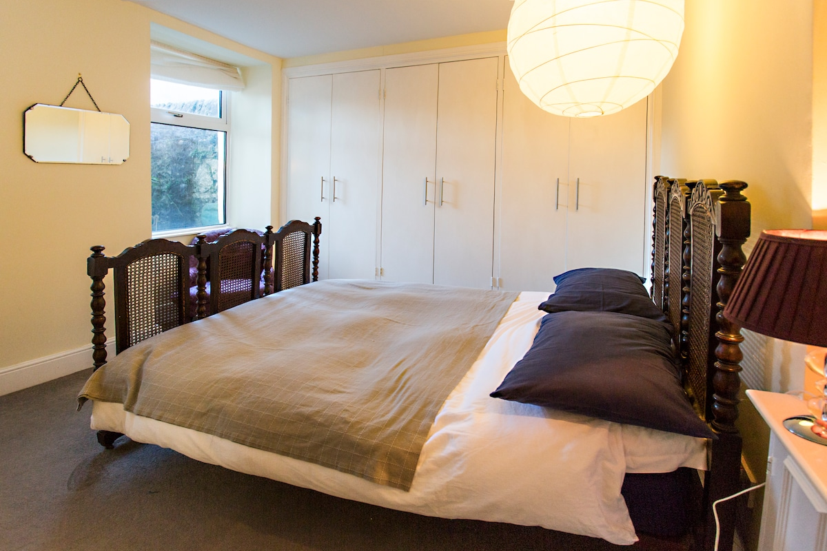 Second Bedroom has spacious fitted wardrobes with shelving and hanging space