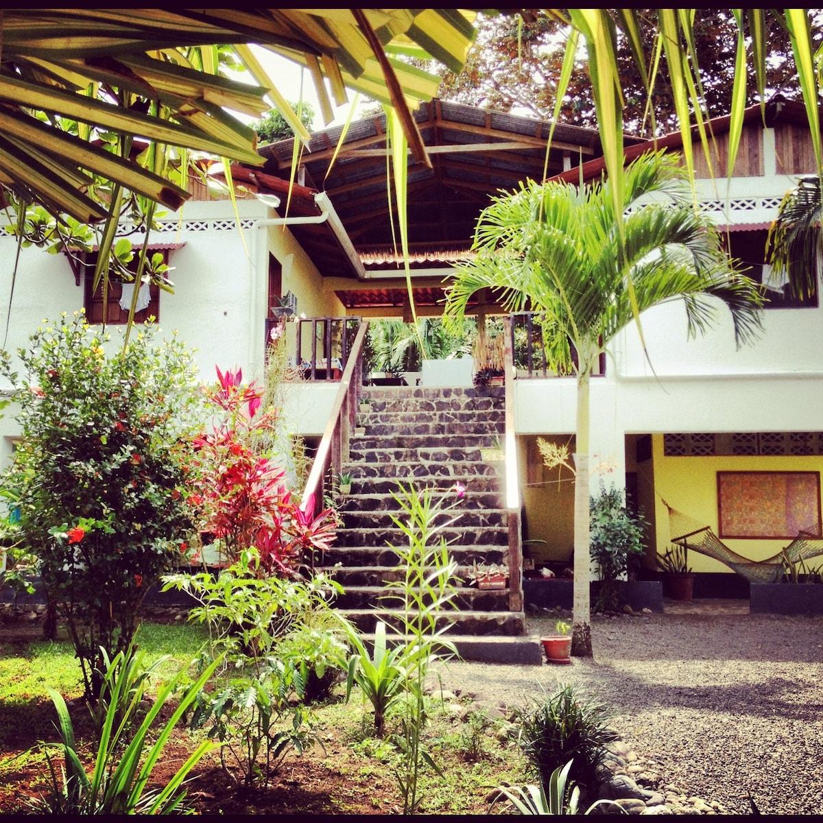 Casa Faya Lobi a family getaway.