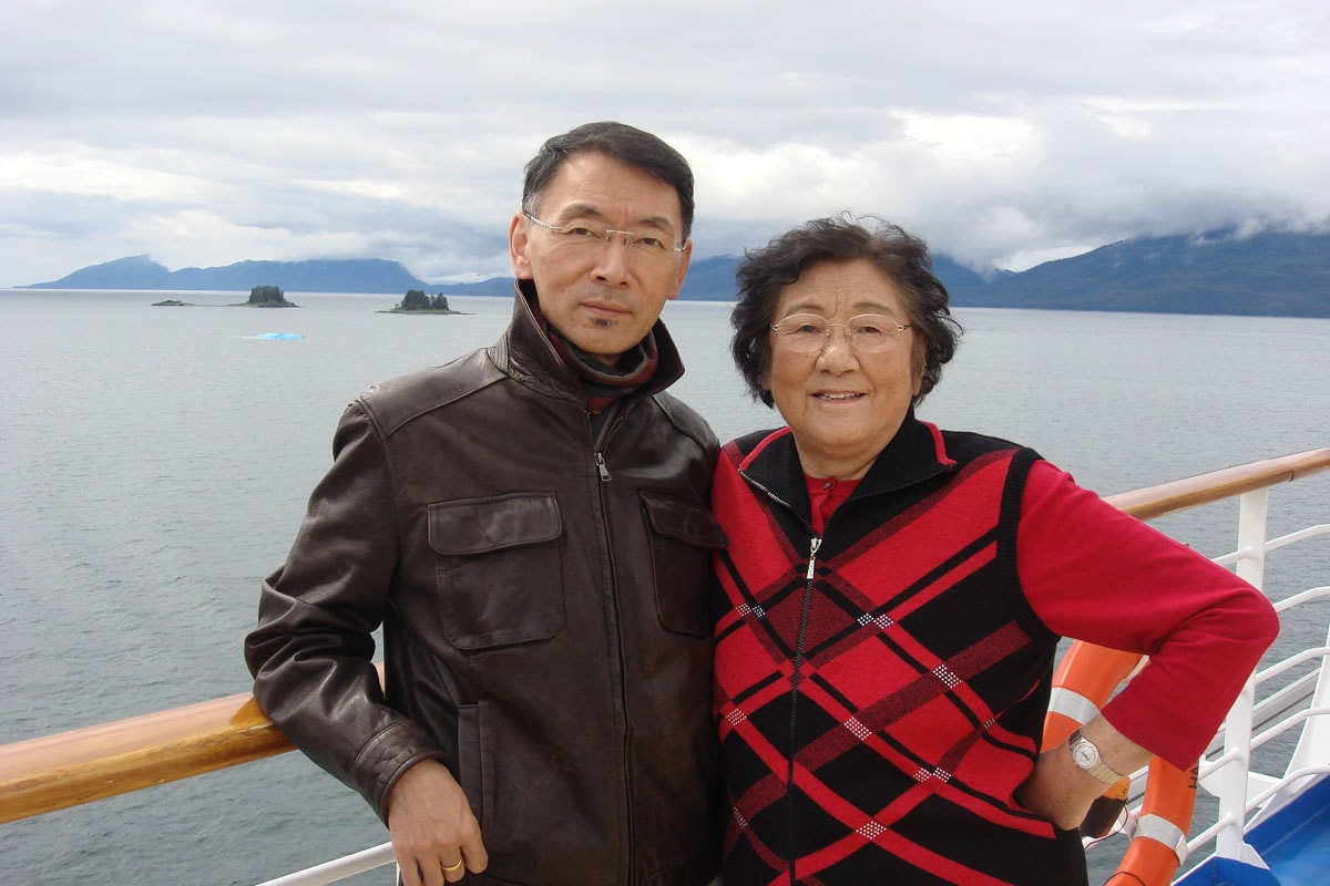 Mother and I were cruising Alaska at end of June, 2011.