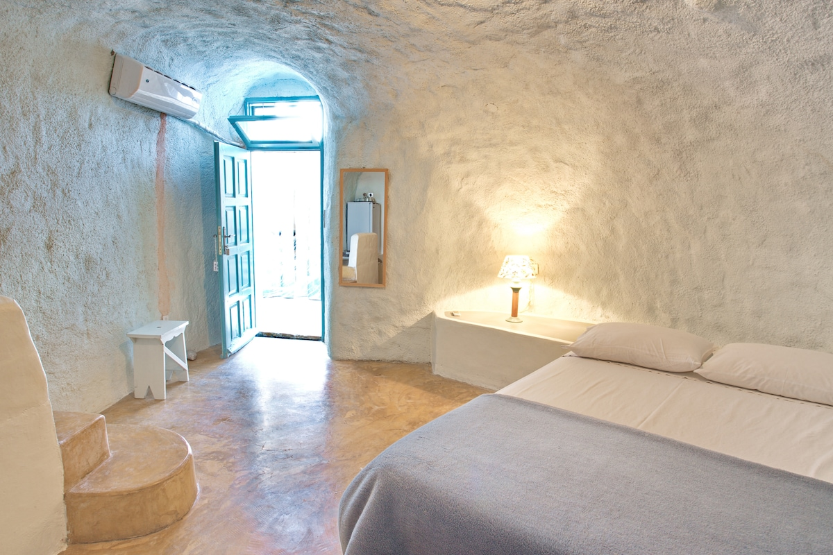 Stay in a real cave in old winery!