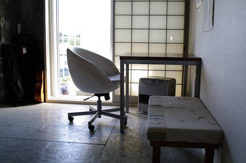 bedroom desk, chair