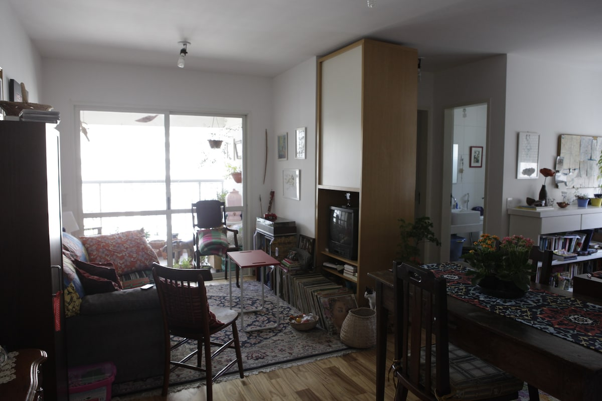 The first view of the apartment