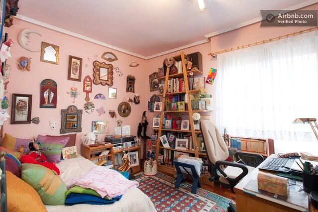 vista de la habitacion ¡¡este es tu espacio!!!