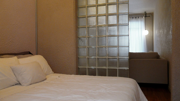 Second room, also with a very comfortable double bed