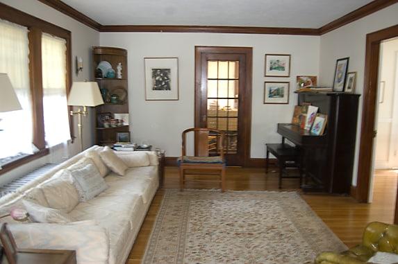 Feel free to enjoy my living room;