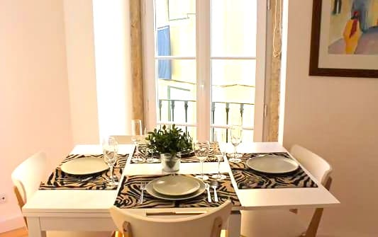 Table for four persons