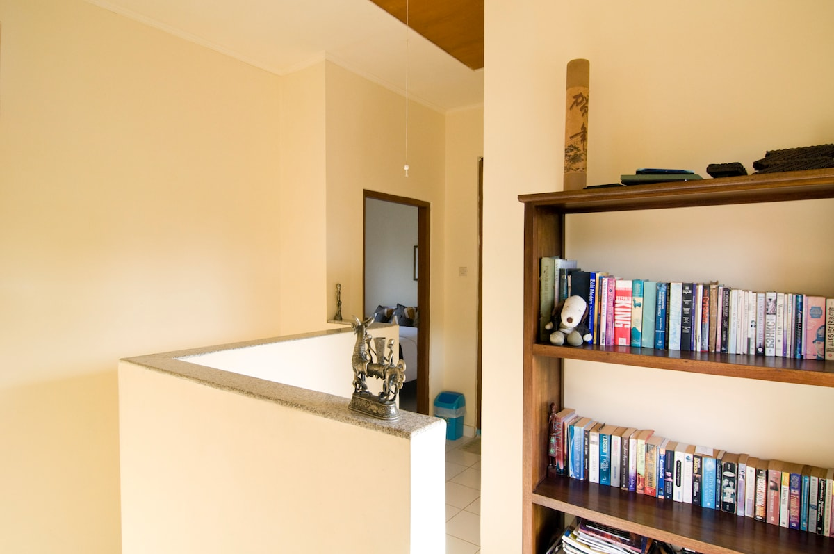 small library at the second floor