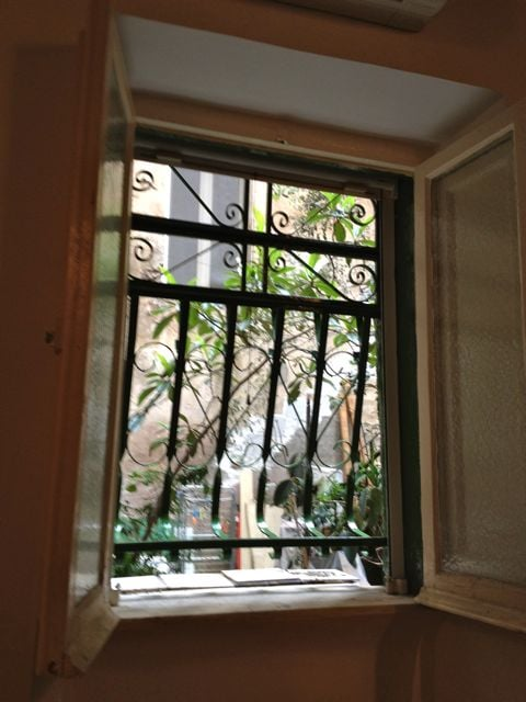 The window on the courtyard (2)