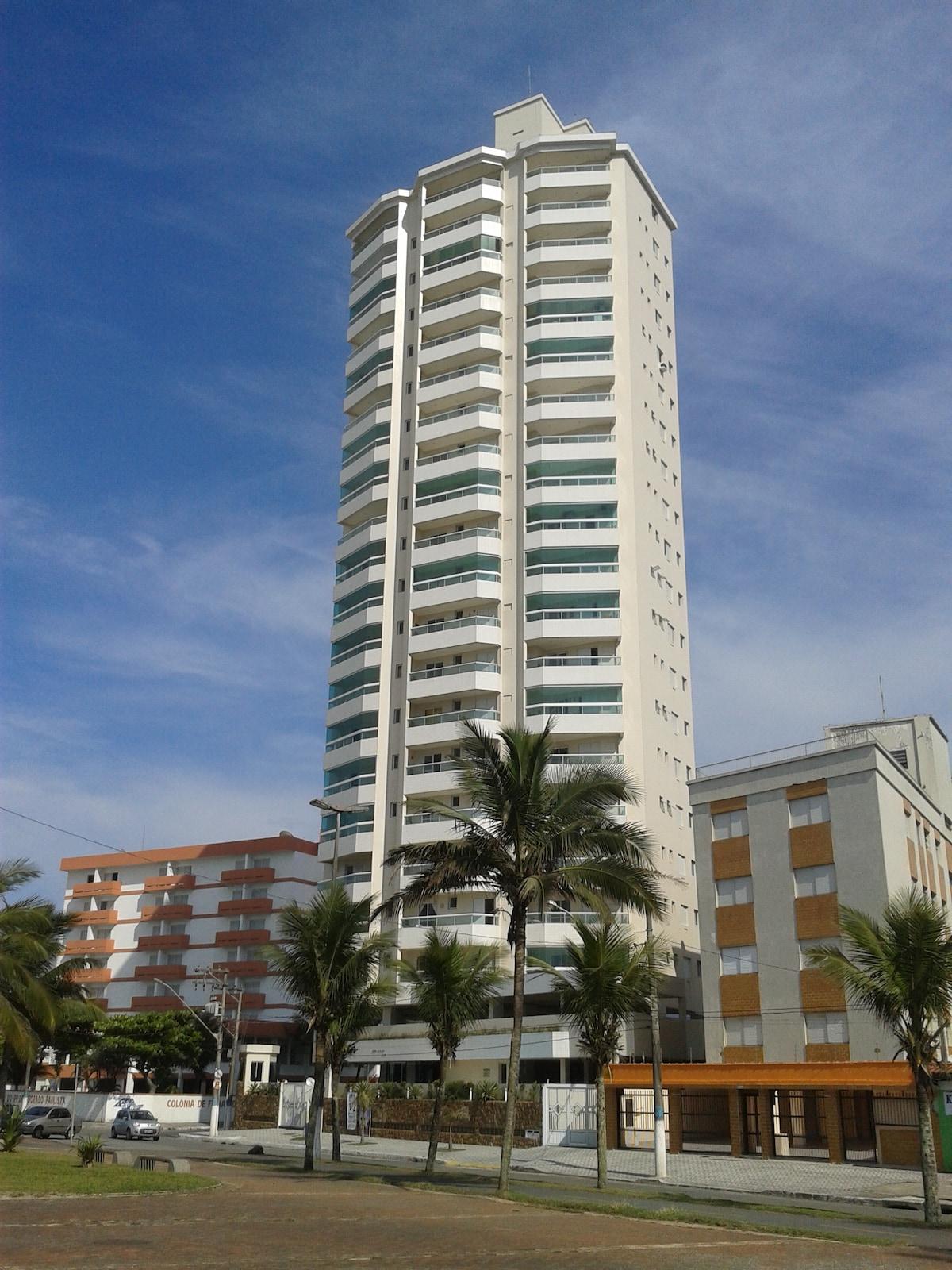 Apartment Front Sea Praia Grande