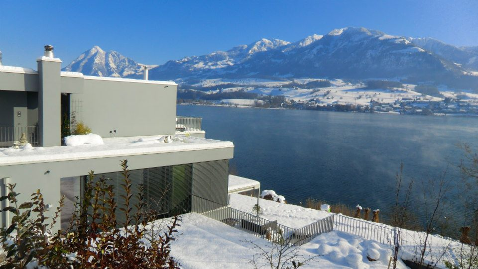 Winter at Villa Wilen! (with many thanks to guest Gili Merin - taken in Winter 2013).