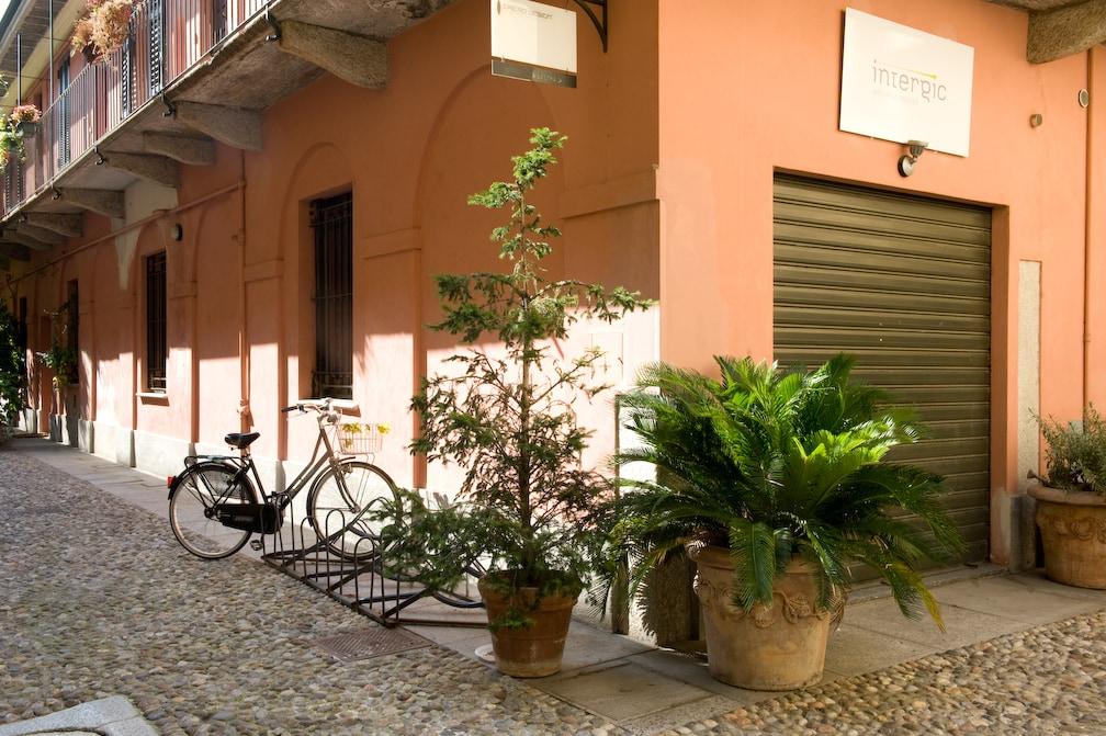 300 yr. old Courtyard Central Milan