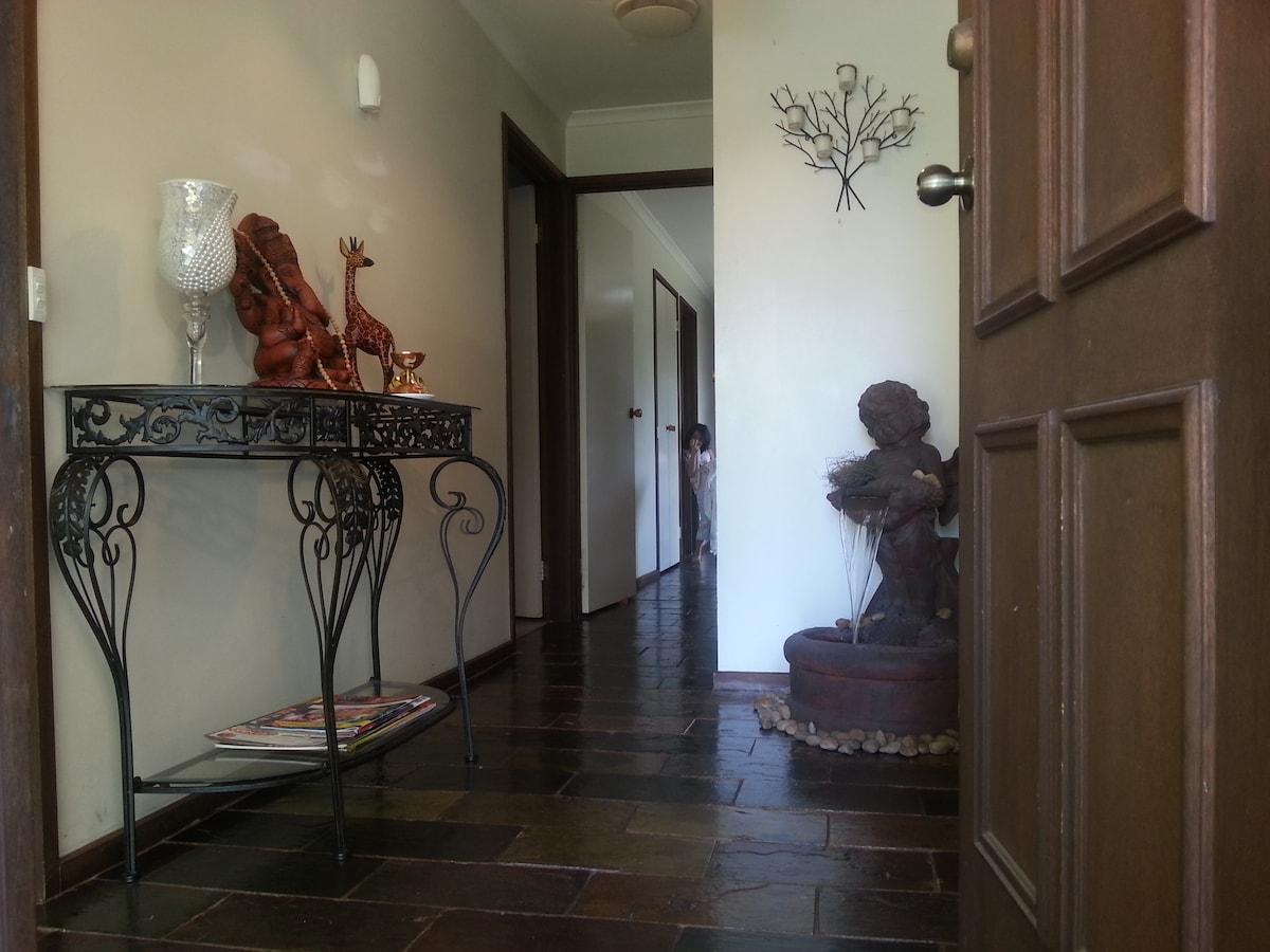 Main door entrance...