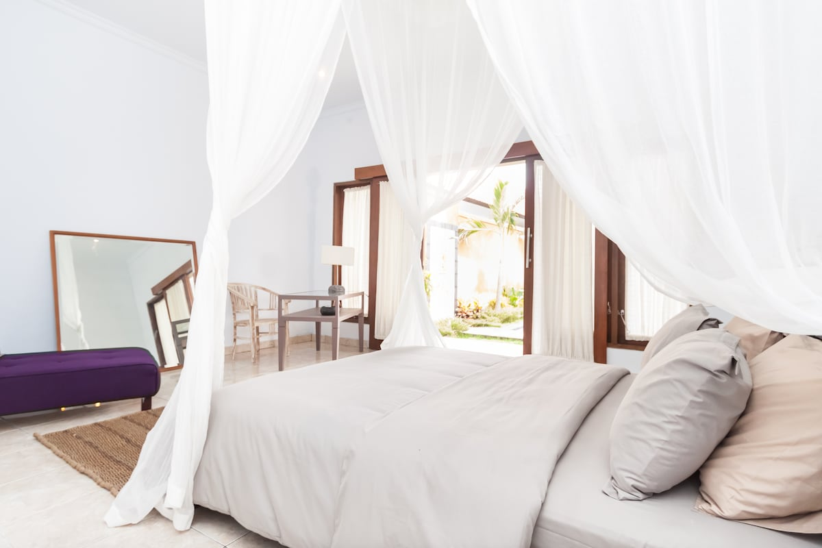 Peaceful and comfy Villa for 6 pax!