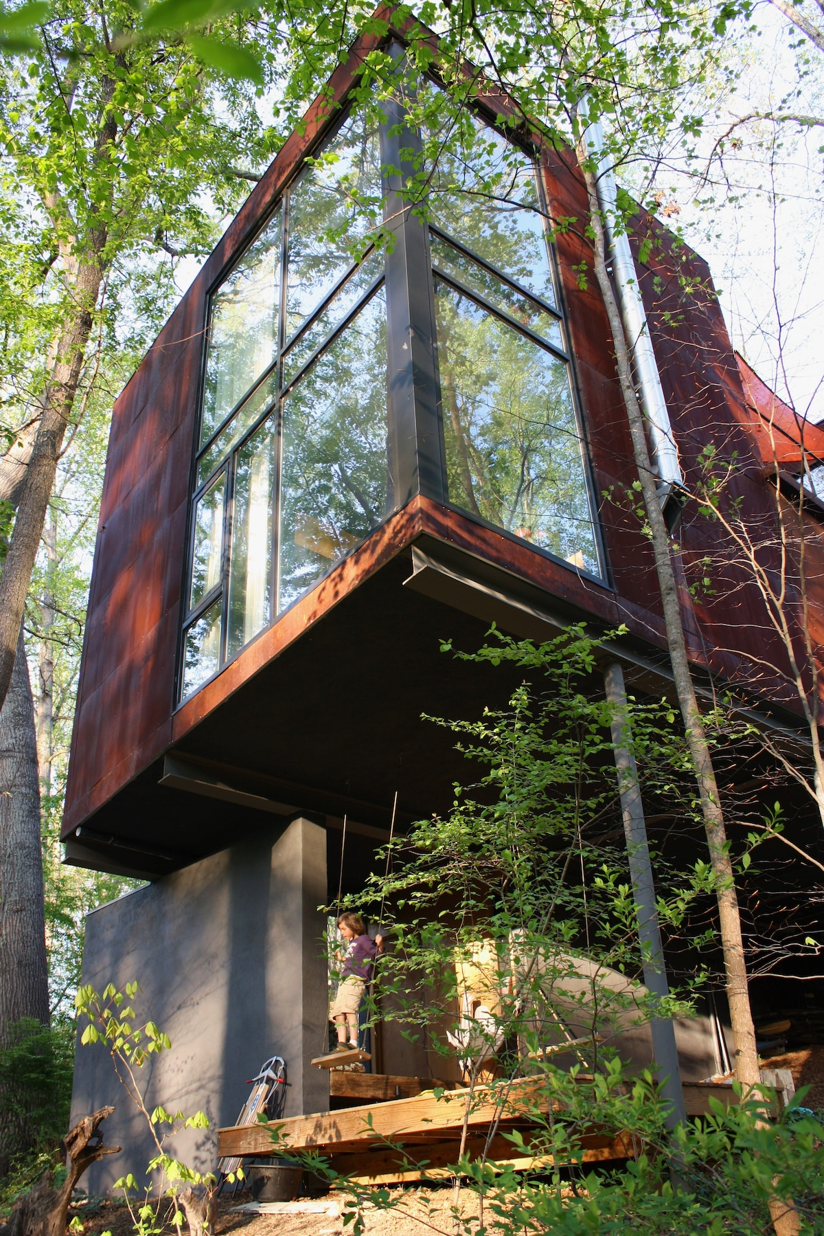 West A'ville sanctuary in the trees