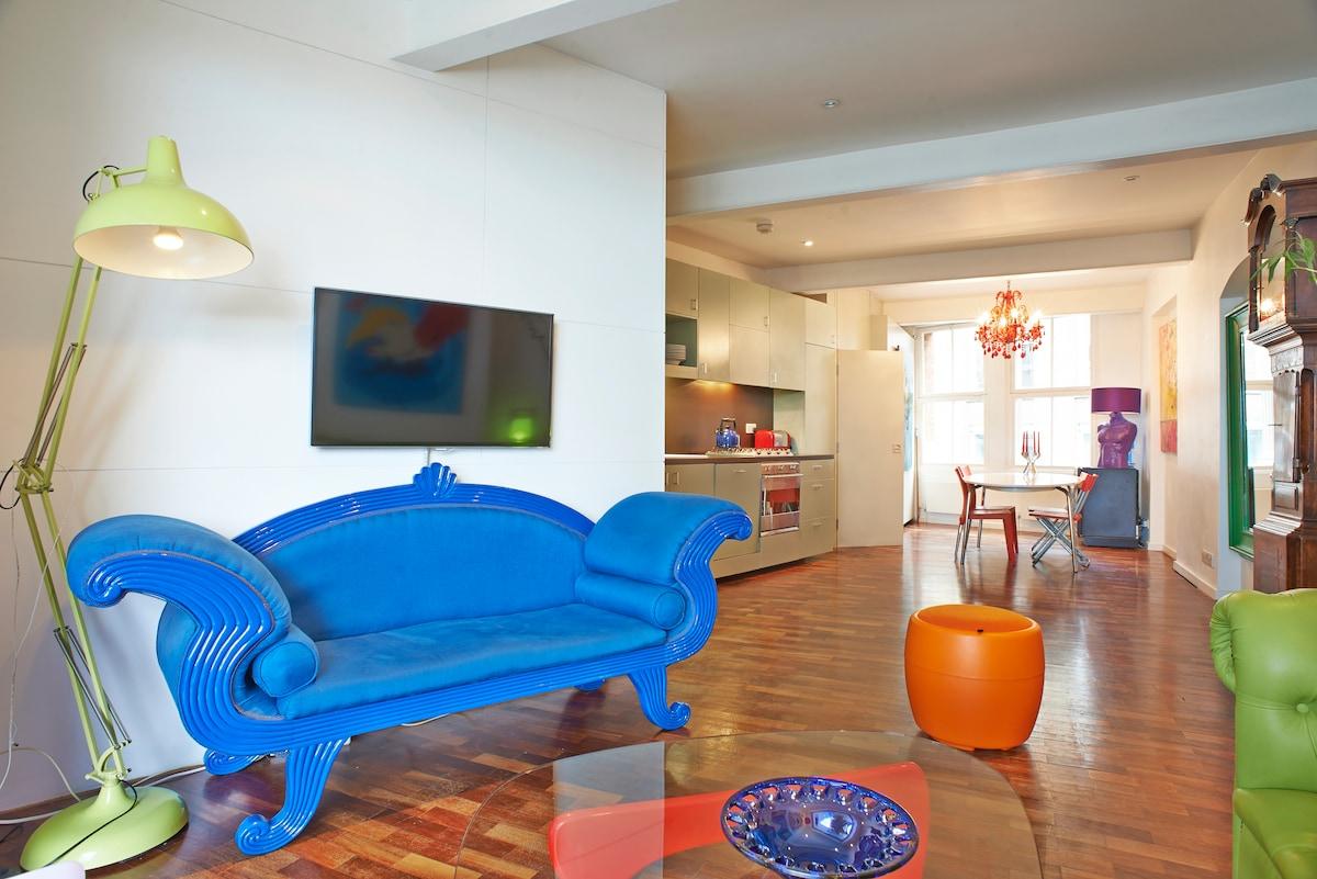 Unique & Vibrant Apartment in Shoreditch