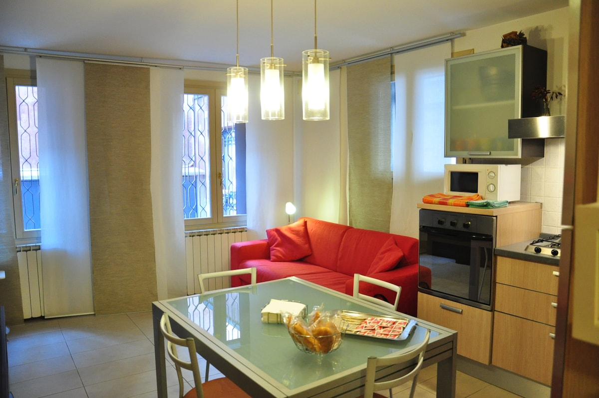 Great Flat for 4 in central Venice!