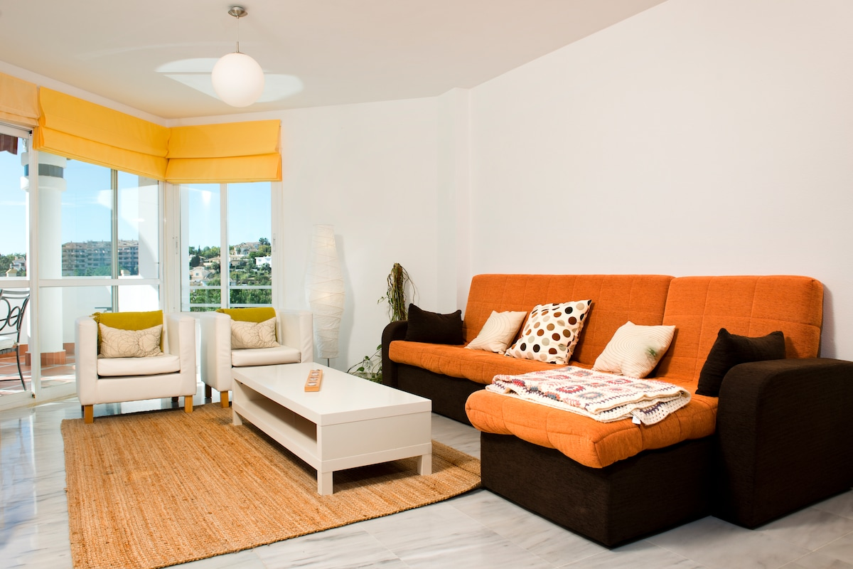 Bright and charming in Marbella