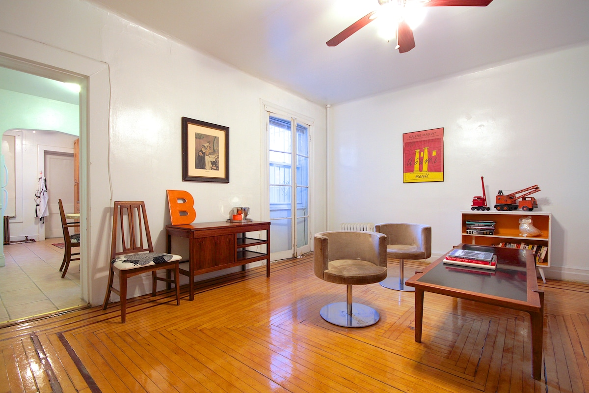 Prospect Heights Beauty 1BR w/patio