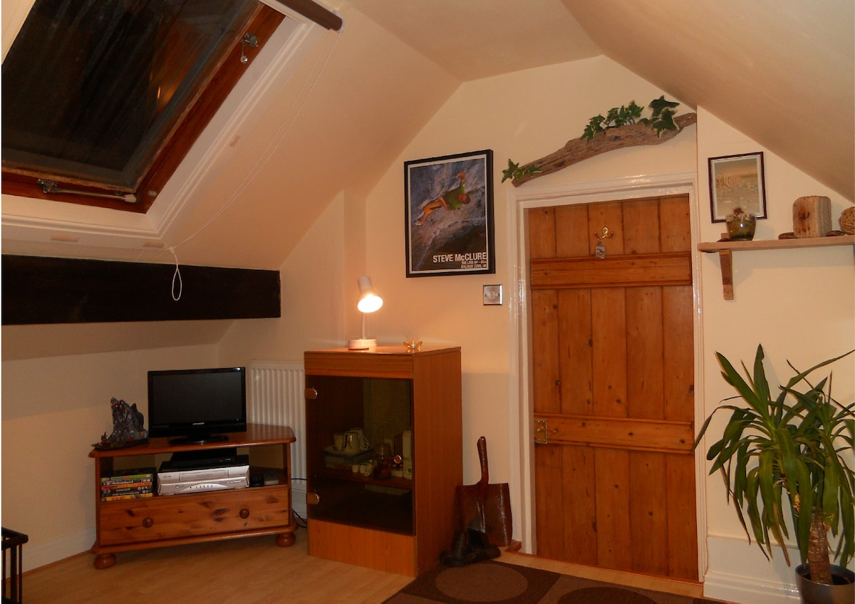 North Wales B&B with a difference - Single Bedroom ' Attic Cottage Style'