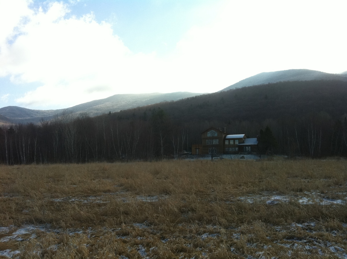 Meadow-House & Headwaters Basin of the Worcester Range  |  Waterbury Center / Stowe Vermont