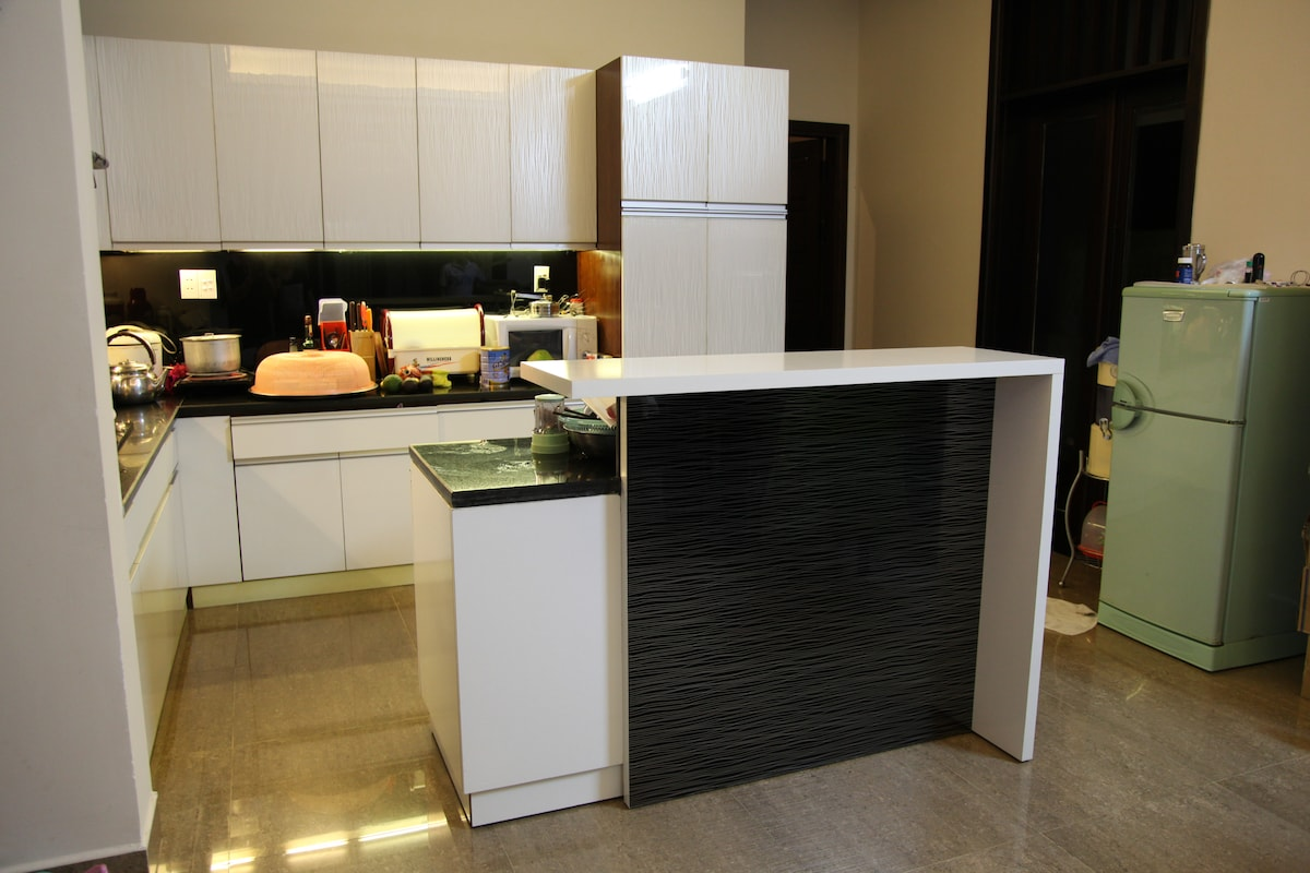 Kitchen for house guests