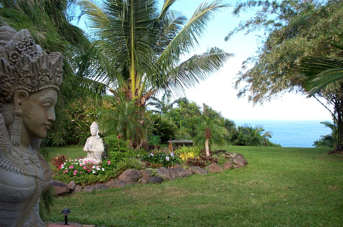 Enjoy exploring the grounds of our Maui Eco Retreat, and meet friends from all over the world