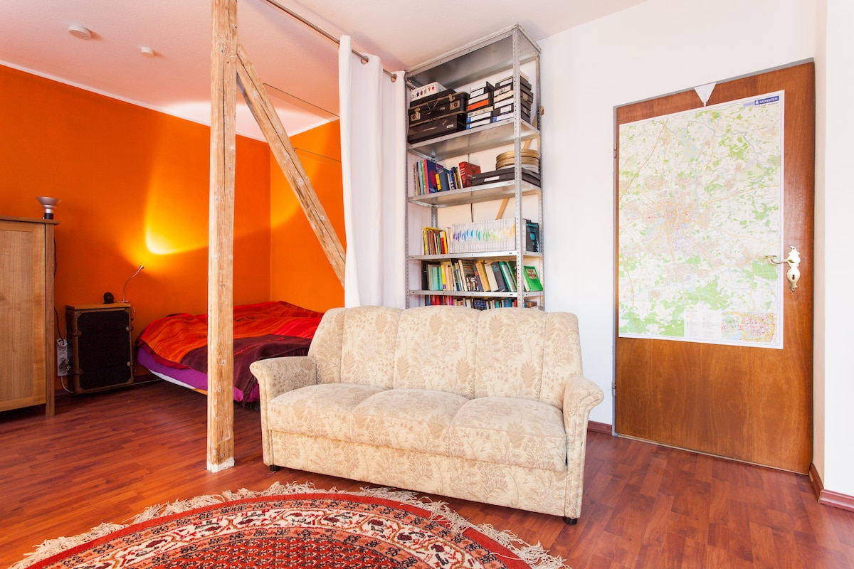 1-room-apartment nearly in center