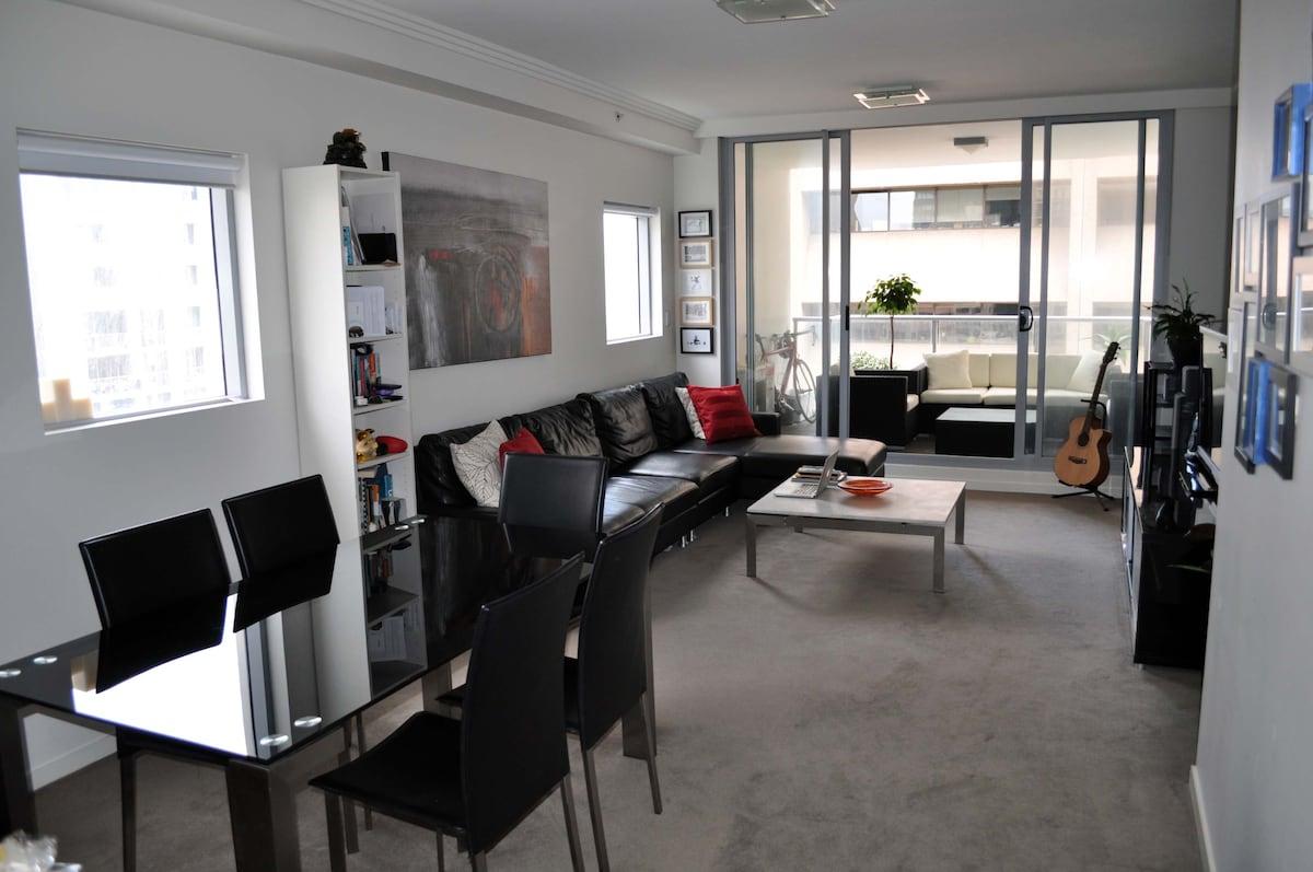 Sydney CBD luxury apartment 1-5ppl