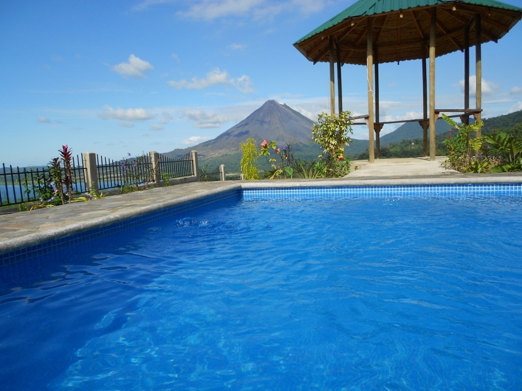 3 metre x 4 metre splash pool-1.5 metres deep is perfect for cooling off after a day of eco-adventure