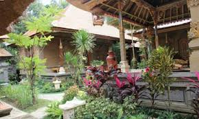 Bali Traditional House at Batubulan