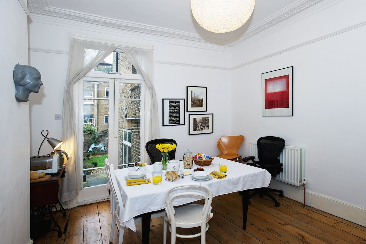 Downstairs dining room