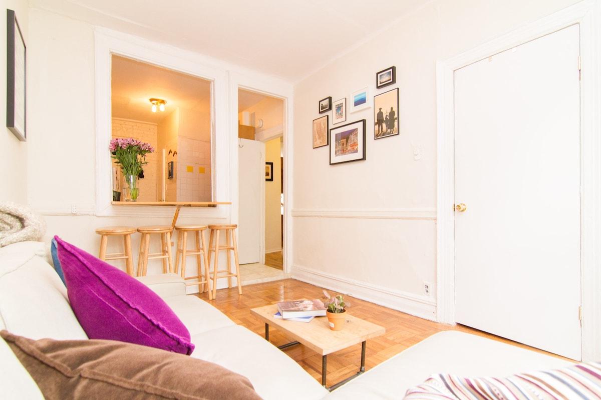 Private Room in Sunny 2br SOHO Apt