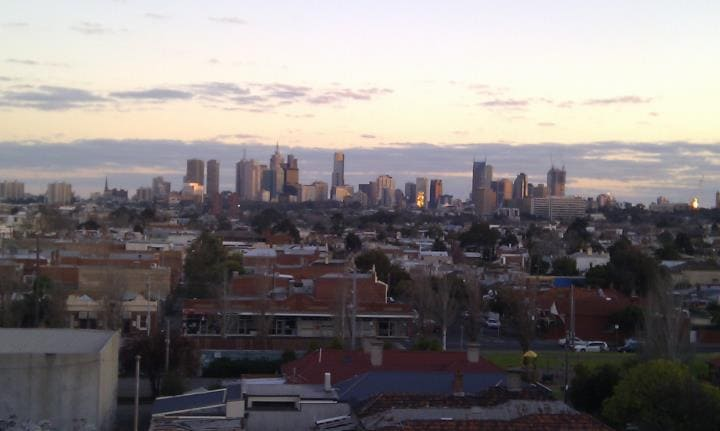 The city view from the level 5 roof top so amazing!