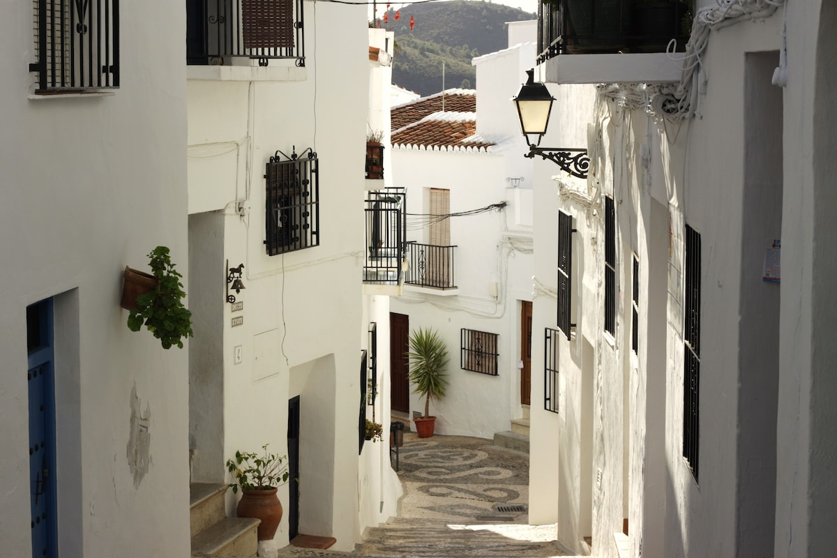 The decorative cobbled lanes passageways and alleys