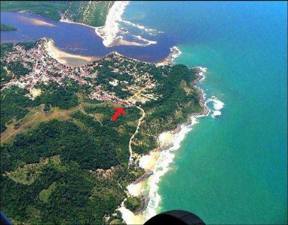 Localização ao lado das praias