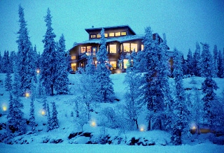The main lodge or hotel , its remote, its warm and all eco .
