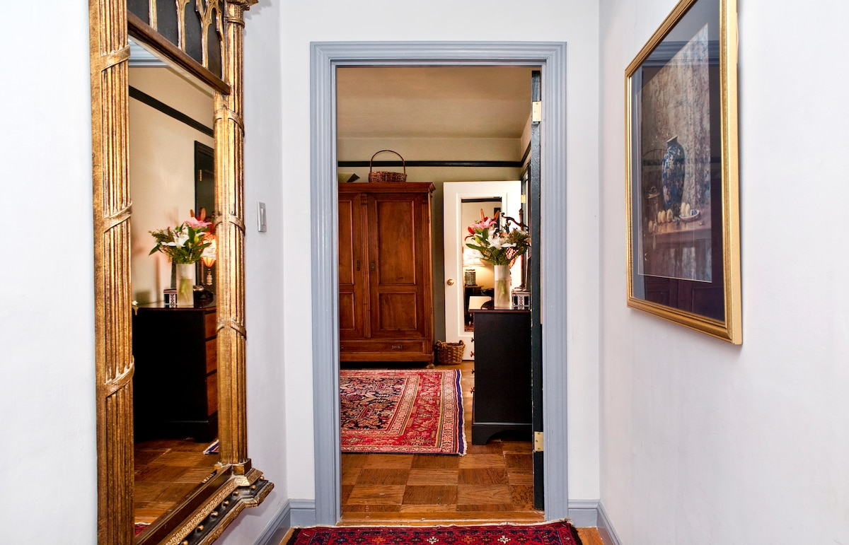 The doorway to your private suite...
