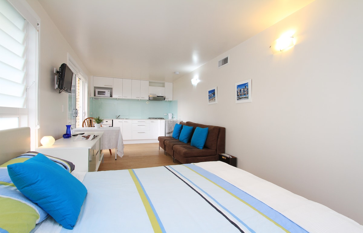 We feel our flat offers a homely feel