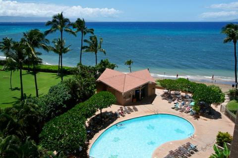 THE OCEAN FROM OUR LANAI...