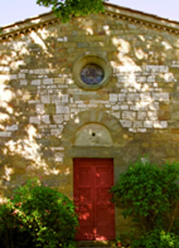 SAN MICHELE CHURCH  IN TUSCANY FARM