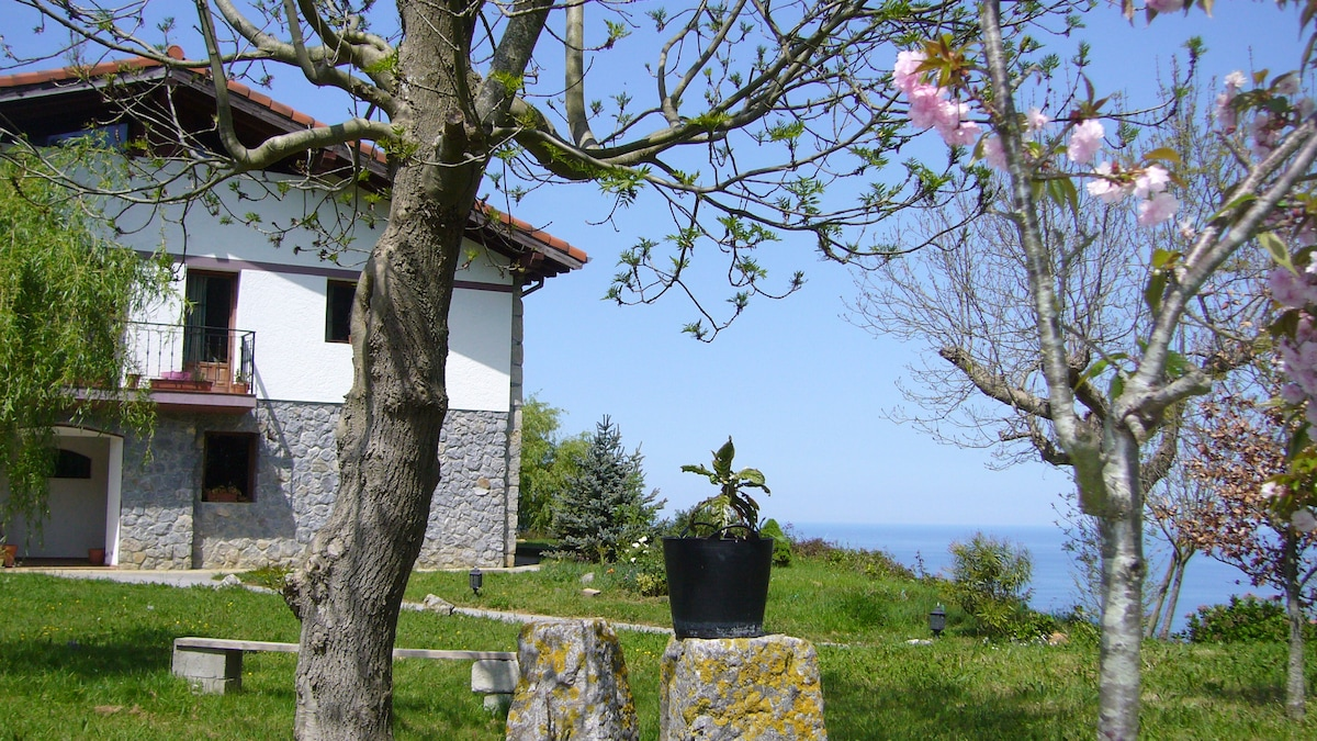 BASQUE COUNTRY HOUSE NEAR THE SEA.