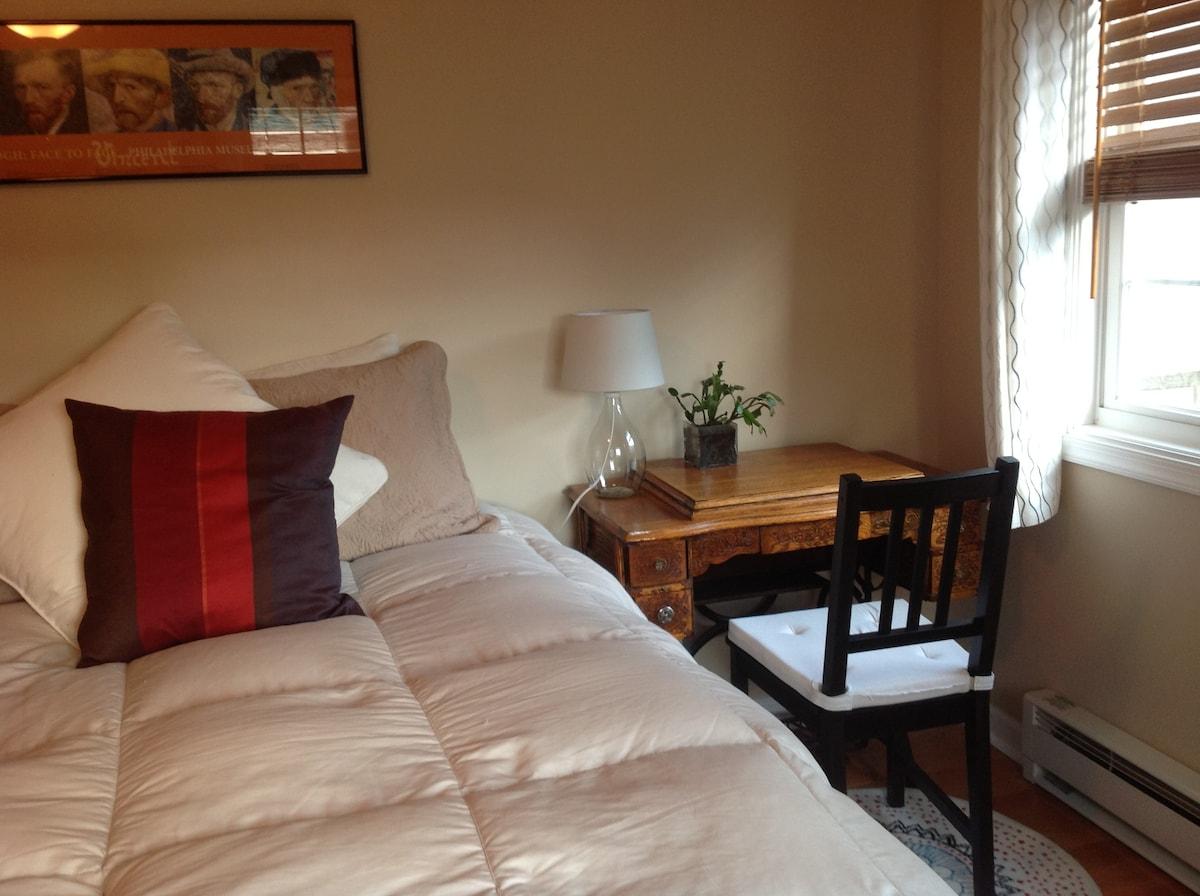 Private Bedroom with En Suite Bath