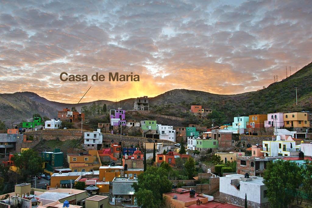 Sunrise on Casa de Maria