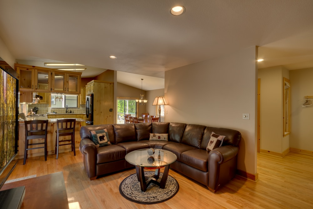 Open, spacious layout
