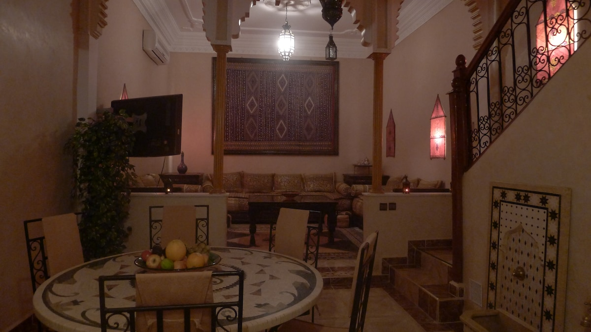 Riad MELED, ambiance nocturne