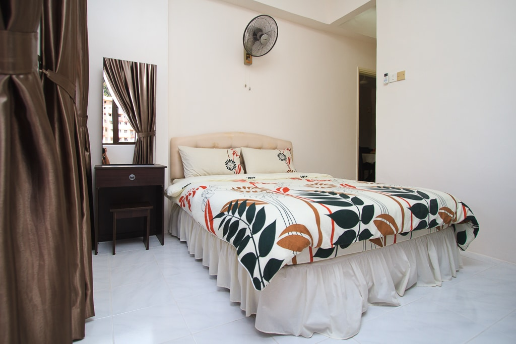 Another dimension of the master bedroom