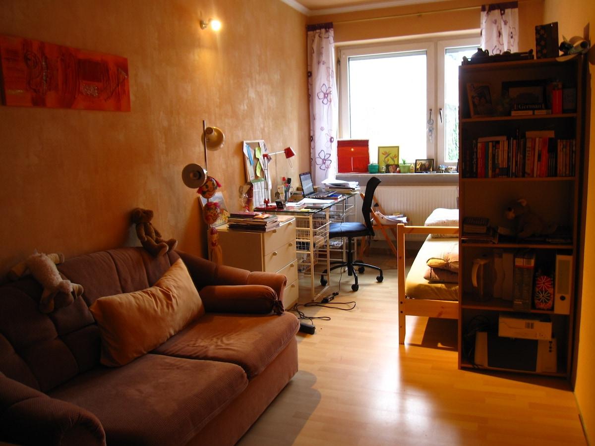 Zimmer 1G1/Bad+Küchennutz./Nähe HBf