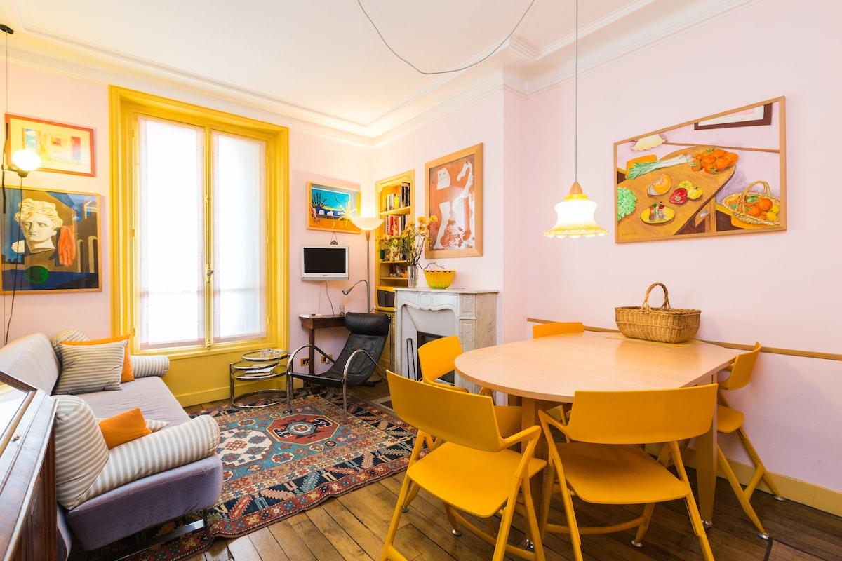 quiet and comfortable apartment