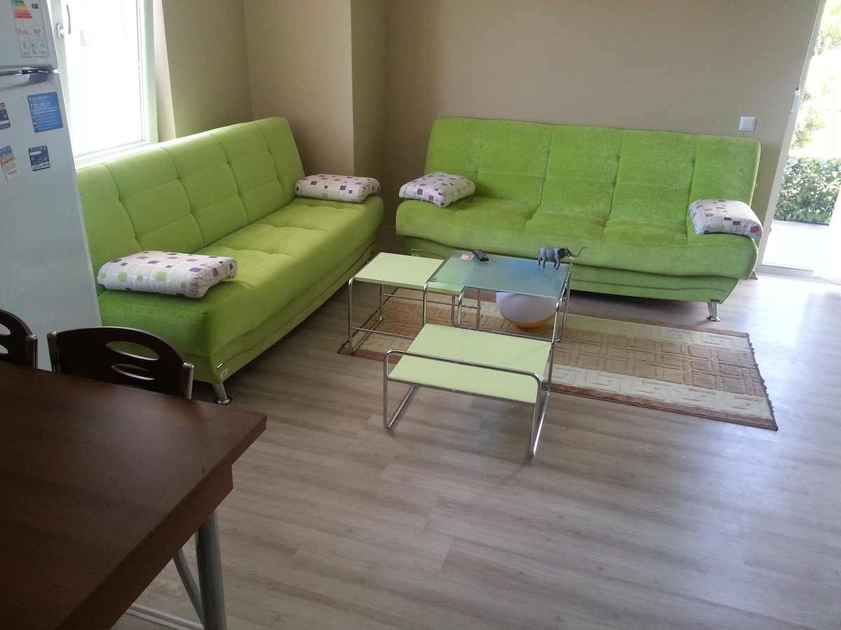 2room luxury flat+cheap rent a car